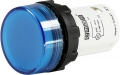 LED Signaallamp Blauw  | EMAS MBSD024M Blauw | 24VAC/DC | 22mm | Microlectra BV