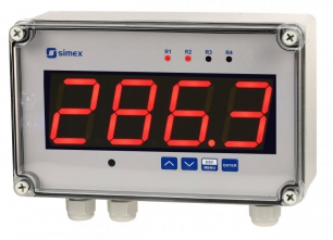 Simex SWS-457 | RS-485 Slave indicator | Multicolor display | SWS-457-M-00-00000-10-3-001